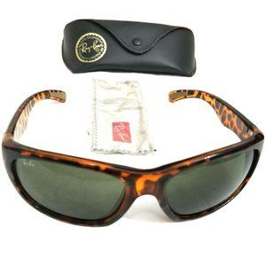 Ray Ban RB4160 Havana Tortoise Full Rim Sunglasses